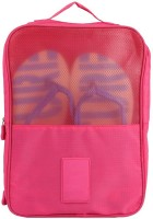 Insasta Travelling Shoes Hand Bag Use For Picnic, Office at Arrival to Anyway-Pink Multipurpose Bag(Pink, 4 inch)
