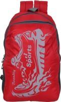 Jainsons BAG-BRANDLY-RED Waterproof Multipurpose Bag(Red, 30 L)
