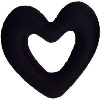 NERR Heart shape donut Bun Bun (Black) Bun(Black) - Price 145 63 % Off