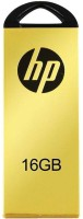 HP V225W 16 GB Metal Pendrive USB 2.0 Flash Drive 16 GB Pen Drive(Yellow)