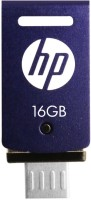 HP V520M OTG 16GB Pen Drive USB 2.0 Flash Drive 16 GB Pen Drive(Purple)