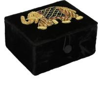 HimalayaHandicraft Jewellery Box Gift Box, Jewellery Box, Makeup Box Vanity Box(Black)