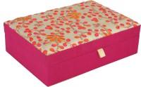 HimalayaHandicraft Jewellery Box Gift Box, Jewellery Box, Makeup Box Vanity Box(Pink)
