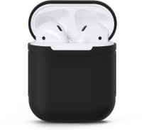 EWOKIt Pouch for Apple Airpods(Black, Flexible Case)