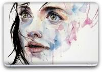 Flipkart SmartBuy Beautiful Girl Painting 10 Vinyl Laptop Skin (3M/Avery Vinyl, Matte Laminated, 14 x 9 inches) Vinyl Laptop Decal 14.1