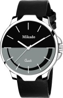 Mikado Cruise Italian Leather Strap Black Dial Men's Watch Watch  - For Boys