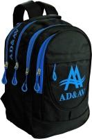 AD & AV 111_BIG_BLUE Waterproof School Bag(Black, 35 L)