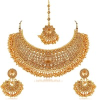 You Bella Alloy Jewel Set(Gold)