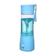 Mezire Wireless US8 Portable rechargable USB 380ml 150 Juicer Mixer Grinder(Blue, 1 Jar) 0 Juicer Mixer Grinder(Blue, 1 Jar)