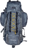 Indian Riders Front Open Model Hiking Trekking Camping Rucksack Bags-75L-Grey-(IRRB-011) Rucksack - 75 L(Grey)