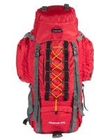 Indian Riders Front Open Model Hiking Trekking Camping Rucksack Bags-75L-Red-(IRRB-013) Rucksack - 75 L(Red)