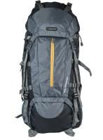Indian Riders Front Open Model Hiking Trekking Camping Rucksack Bags-75L-Grey & Black-(IRRB-010) Rucksack - 75 L(Grey)