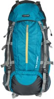 Indian Riders Front Open Model Hiking Trekking Camping Rucksack Bags 75L-T.Blue & Black-(IRRB-007) Rucksack - 75 L(Blue)