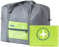Shopharp New York Tote Travel Foldable bag 23 L Waterproof Multipurpose Bag(Green, 23 L)