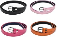 Verceys Women Casual, Formal Black, Pink, Orange Artificial Leather Belt