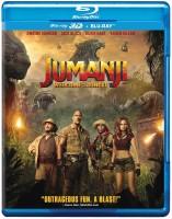 Jumanji: Welcome to the Jungle (Blu-ray 3D & Blu-ray)(3D Blu-ray English)