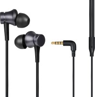 Mi YDJC01JY Wired Headset with Mic(Black, In the Ear)
