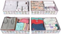 HomeStorie Lingerie Storage Case(Bra and Panty, Pack of 4)