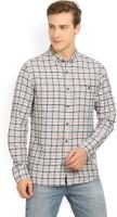 Flying Machine Men's Checkered Casual Button Down Shirt