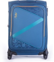 Skybags Spotlight 50 cm Trolley Bag (Navy Blue) Expandable Cabin Luggage - 22 inch(Blue)