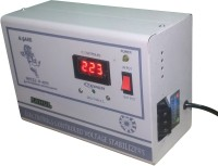 rahul Digi 1090 a 1 KVA/4 AMP 90-280 Volt Automatic Digital Voltage Stabilizer Auto Matic Stabilizer(White)