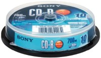 sony CD Recordable Cake Box 700 MB