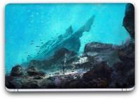 Flipkart SmartBuy In The Ocean Painting Vinyl Laptop Skin (3M/Avery Vinyl, Matte Laminated, 14 x 9 inches) Vinyl Laptop Decal 14.1