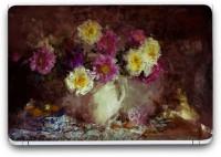 Flipkart SmartBuy Flowers Painting 9 Vinyl Laptop Skin (3M/Avery Vinyl, Matte Laminated, 14 x 9 inches) Vinyl Laptop Decal 14.1
