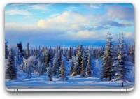 Flipkart SmartBuy Snowbound Painting 4 Vinyl Laptop Skin (3M/Avery Vinyl, Matte Laminated, 14 x 9 inches) Vinyl Laptop Decal 14.1