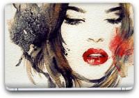 Flipkart SmartBuy Beautiful Girl Painting 7 Vinyl Laptop Skin (3M/Avery Vinyl, Matte Laminated, 14 x 9 inches) Vinyl Laptop Decal 14.1
