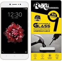 Roxel Impossible Screen Guard for VIVO Y66 (Crown Gold, 32 GB)(Pack of 1)