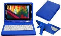 ACM Keyboard Case for Acer One 7 (Namo E-Tab)(Blue, Cases with Holder, Artificial Leather)