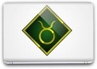 Flipkart SmartBuy Zodiac Sign Taurus Symbol 7 Vinyl Laptop Skin (3M/Avery Viny, Matte Laminated, 13 x 8.5 inches) Vinyl Laptop Decal 13.3