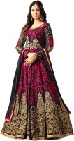 Siddeshwary Fab Anarkali Gown(Multicolor)
