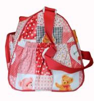 Kidzvilla Baby Carrier, Diaper & Travelling Bag Nursery Baby Diaper Bag(Red)