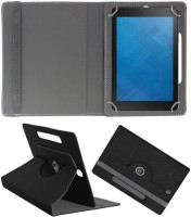 ACM Flip Cover for Dell Venue 8 3840(Black, Cases with Holder, Artificial Leather)