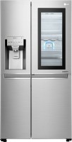 LG 668 L Frost Free Side by Side Refrigerator(Noble Steel, GC-X247CSAV)   Refrigerator  (LG)