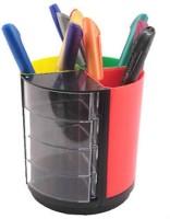 PANKU 7 Compartments plastic Desk organizer(Assorted)