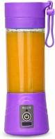 Zizatrendz Portable Juicer 230 Juicer Mixer Grinder(Purple, 1 Jar)