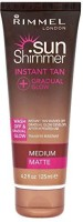 Generic Rimmel Instant Tan Gradual Glow Sunshimmer Medium Matte(125 ml) - Price 31313 28 % Off