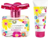 Yves Rocher owerparty Summer Piece owerparty Summer Eau De Toilette Perfumed Body lotion(100 ml) - Price 20261 28 % Off