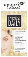 Generic Ayuuri Natural Fairness Daily Intensive Facial Night Cream(50 ml)