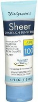 Trifing Walgreens Sheer DryTouch Sunscreen lotion(118.3 ml) - Price 16104 28 % Off