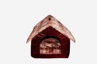 JAINSONS PET PRODUCTS BROWN-HUT Dog House