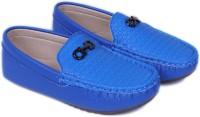 FEETWELL Boys Slip on Loafers(Blue)