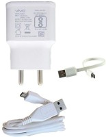 vivo Wall Charger Accessory Combo for Vivo Mobile Charger, Buy From Our Best Seller (PICKMART), Vivo V5, Vivo V7, Vivo V7 Plus, Vivo Y53, Vivo Y21(White)