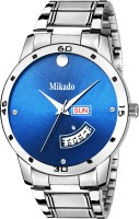 mikado Blue Sea star Metal Chain Day and Date Men's watch Watch  - For Boys