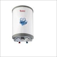 Warmex 15 L Electric Water Geyser(Off White & Silver, Electric Water Heater High Pressure (EWH-15-H))