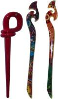 GHATAK Combo of Multi Color Juda Sticks Bun Stick(Multicolor) - Price 430 78 % Off