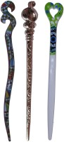 KITTY Combo of Multi Color Juda Sticks Bun Stick(Multicolor) - Price 430 78 % Off
